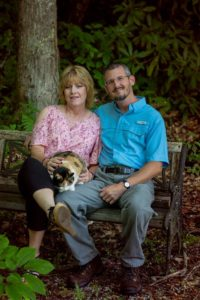 Lisa and Horace Williams, owners of Maples N More Nursery, Burnsville NC