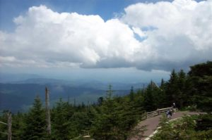 View from Mt. Mitchell NC